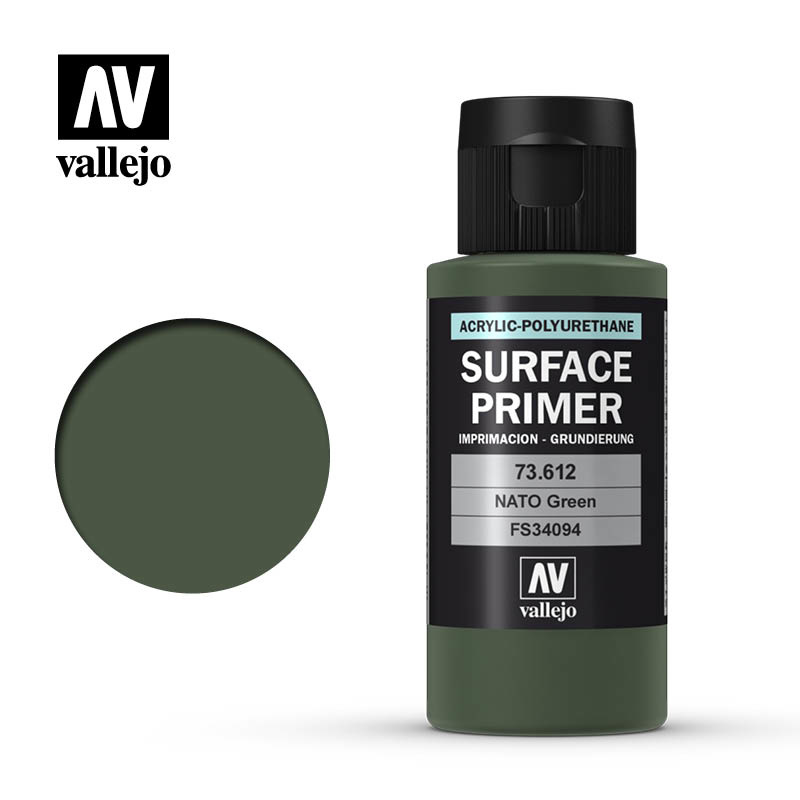 Vallejo Primer NATO Green - 60ml - Vallejo - VAL-73612