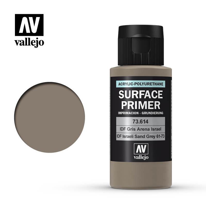 Vallejo Primer IDF Israeli Sand Grey (61-73) - 60ml - Vallejo - VAL-73614