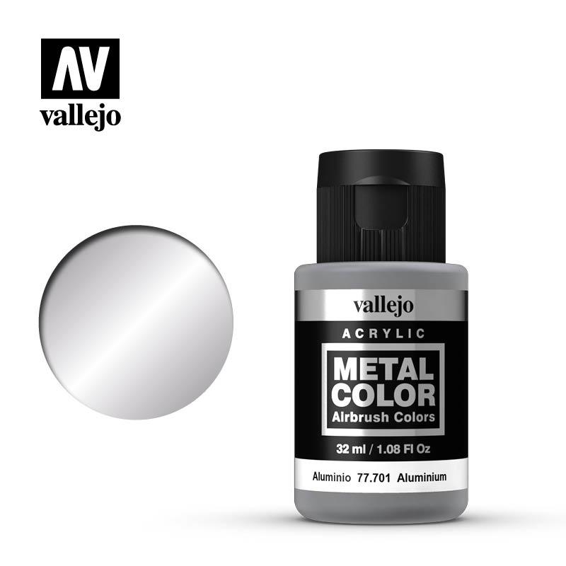 Vallejo Metal Color Aluminium - 32ml - Vallejo - VAL-77701
