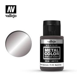 Metal Color Burnt Iron - 32ml - Vallejo - VAL-77721