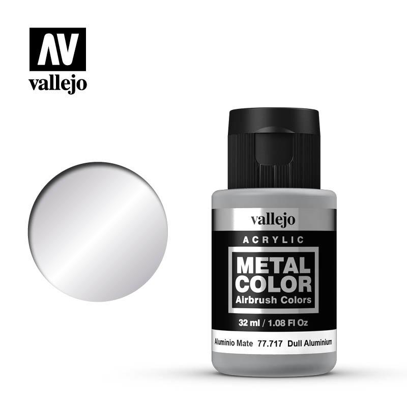Vallejo Metal Color Dull Aluminium - 32ml - Vallejo - VAL-77717