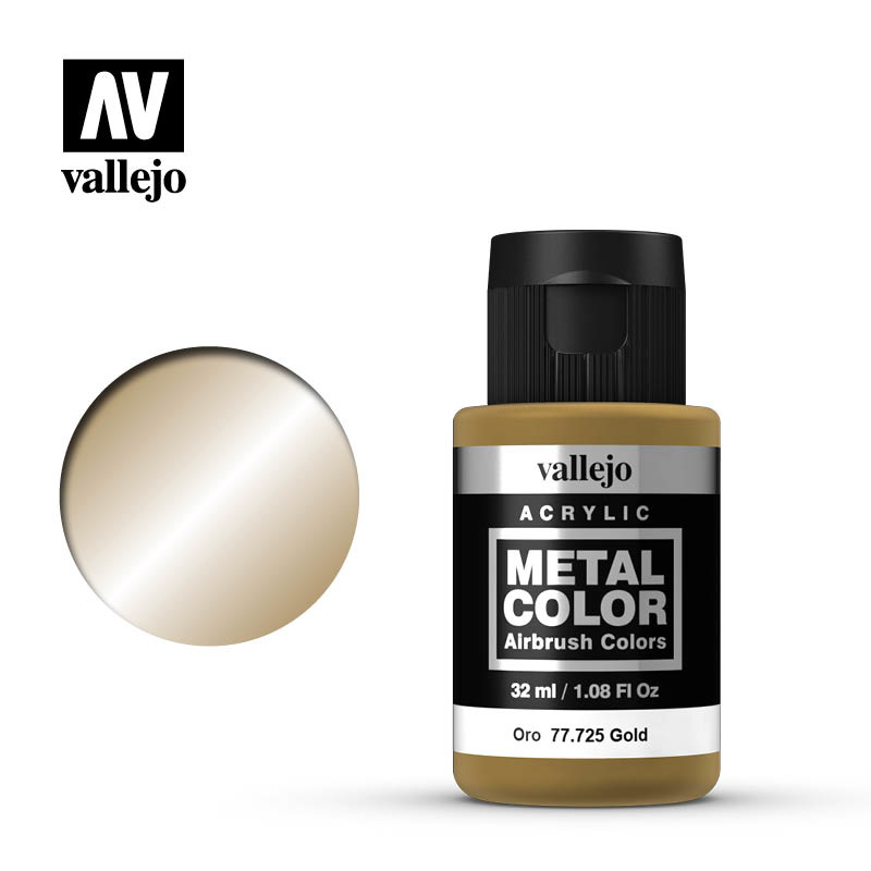 Vallejo Metal Color Gold - 32ml - Vallejo - VAL-77725