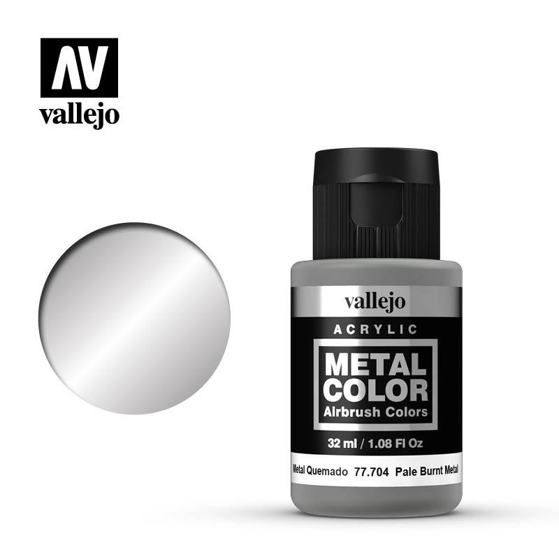 Vallejo Metal Color Pale Burnt Metal - 32ml - Vallejo - VAL-77704