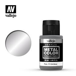 Metal Color Silver - 32ml - Vallejo - VAL-77724