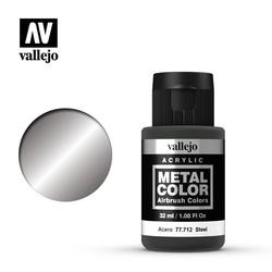 Metal Color Steel - 32ml - Vallejo - VAL-77712