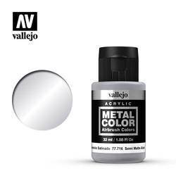 Metal Color Semi Matte Aluminium - 32ml - Vallejo - VAL-77716