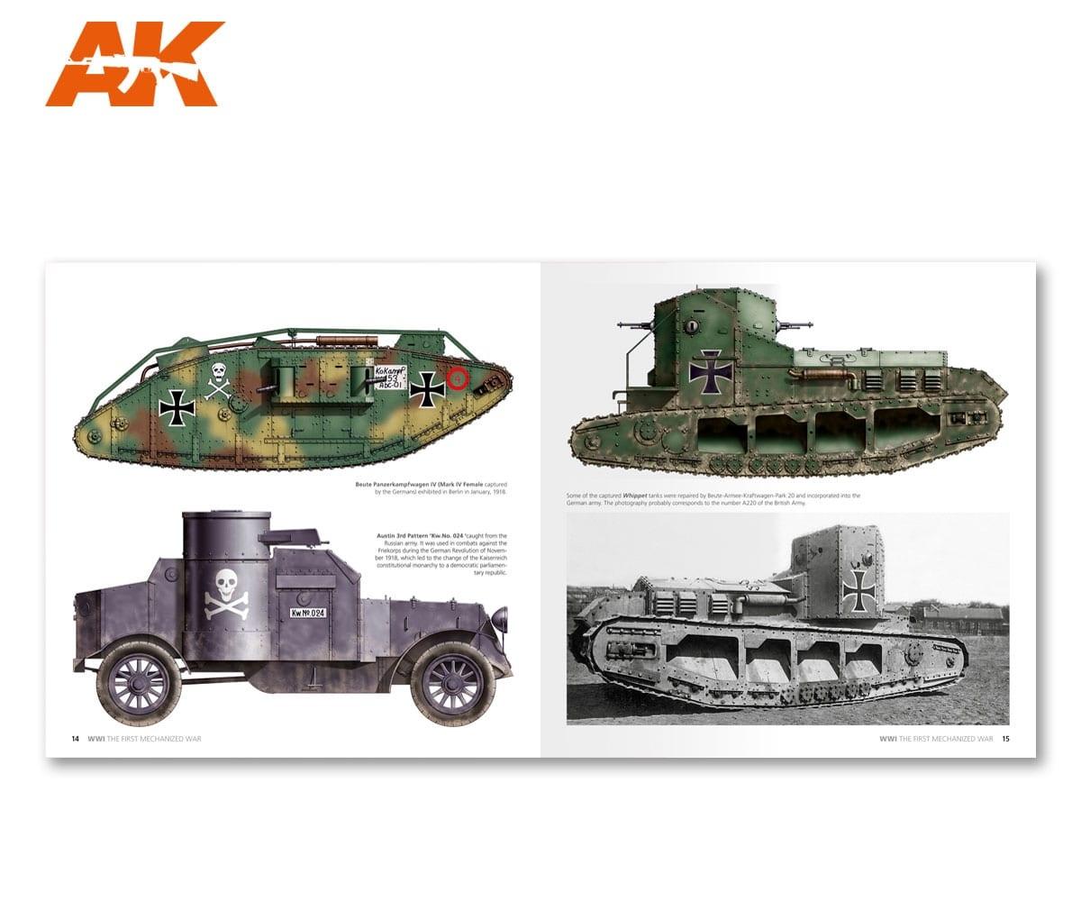 AK-Interactive WWI The First Mechanized War English - AK-273