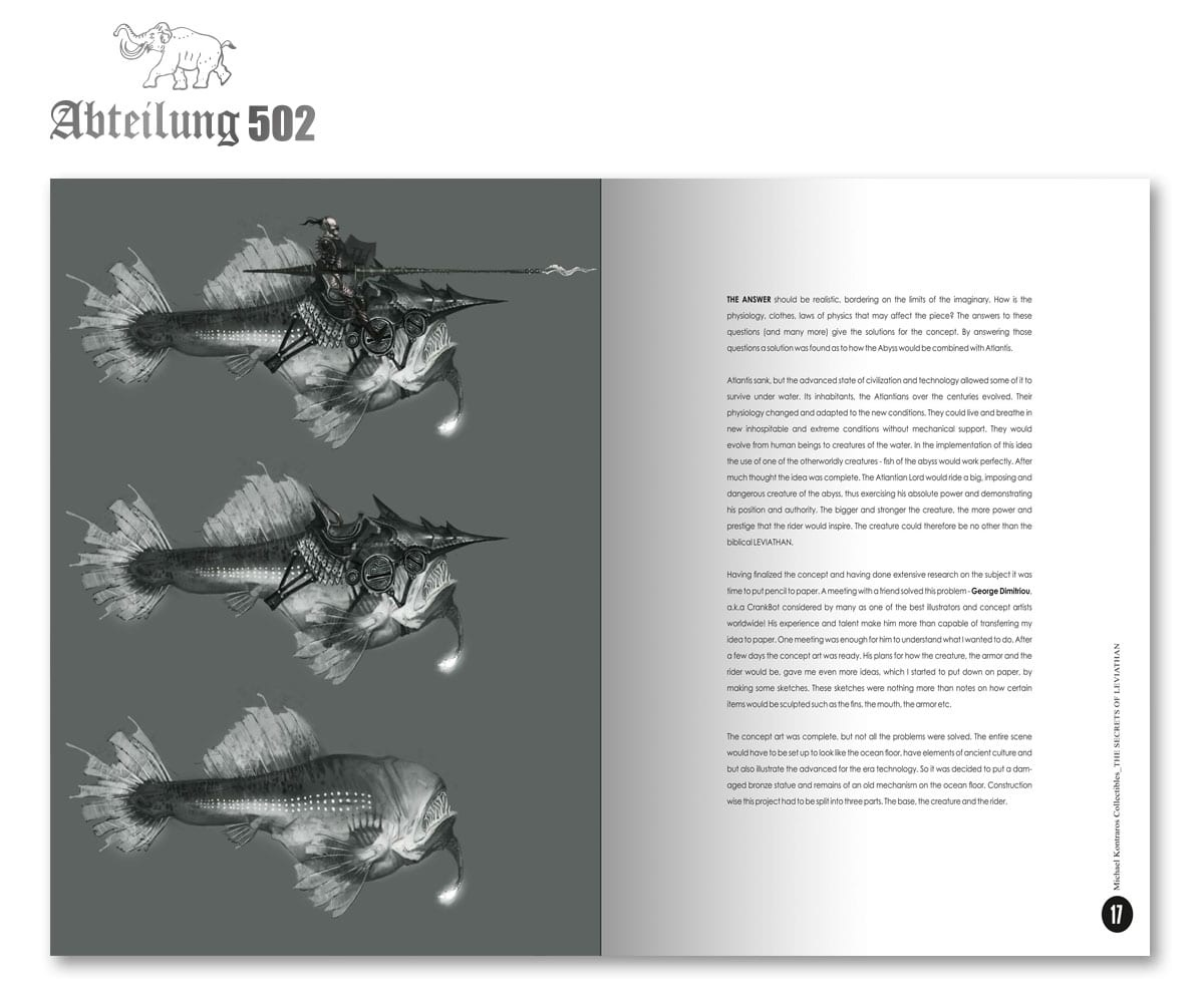 Abteilung 502 Secrets Of Leviathan - (English)