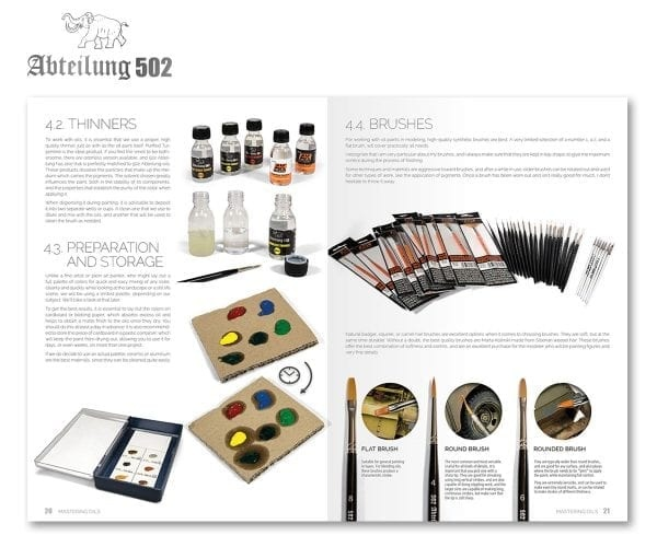 Abteilung 502 Mastering Oils 1, Oil Painting Techniques On Afv'S (English)