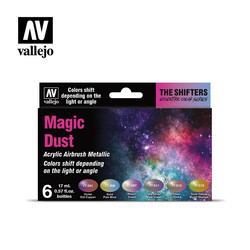 The Shifters - Magic Dust - 6x17ml - Vallejo - VAL-77090