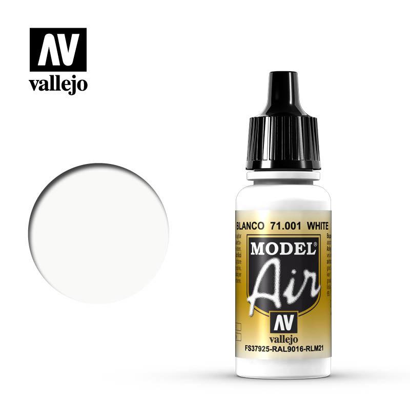 Vallejo Model Air - White - 17 ml - Vallejo - VAL-71001