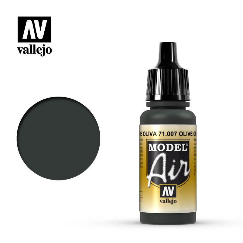 Vallejo Model Air - Olive Green - 17 ml - Vallejo - VAL-71007