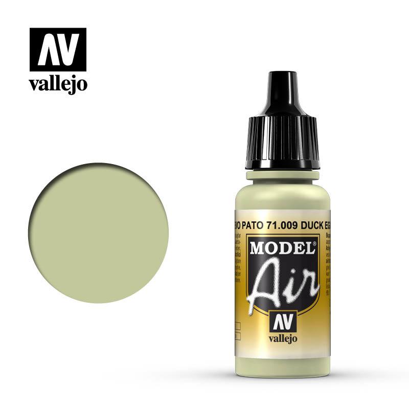 Vallejo Model Air - Eau De Nil - Duck Egg Green - 17 ml - Vallejo - VAL-71009