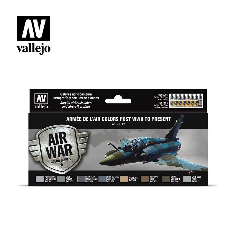 Vallejo Model Air - Armée De L'Air Colors Post Wwii To Prese - Vallejo - VAL-71627