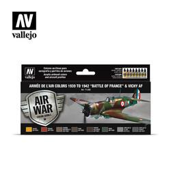 Model Air - Armée De L'Air Colors 1939-1942 Battle Of France & Vichy - Vallejo - VAL-71626