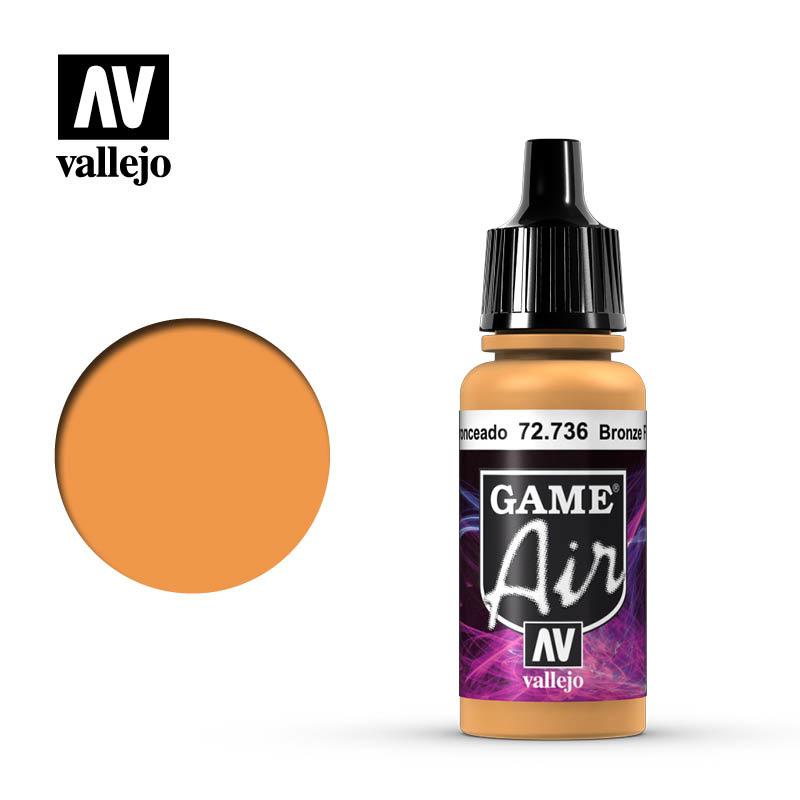 Vallejo Game Air - Bronze Fleshtone - 17 ml - Vallejo - VAL-72736