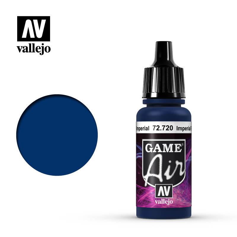 Vallejo Game Air - Imperial Blue - 17 ml - Vallejo - VAL-72720