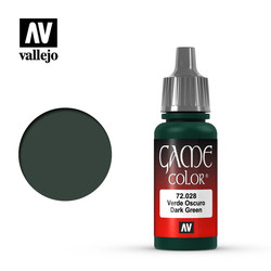 Game Color - Dark Green - 17 ml - Vallejo - VAL-72028