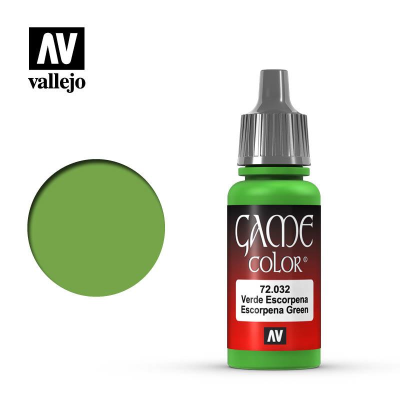 Vallejo Game Color - Scorpy Green - 17 ml - Vallejo - VAL-72032