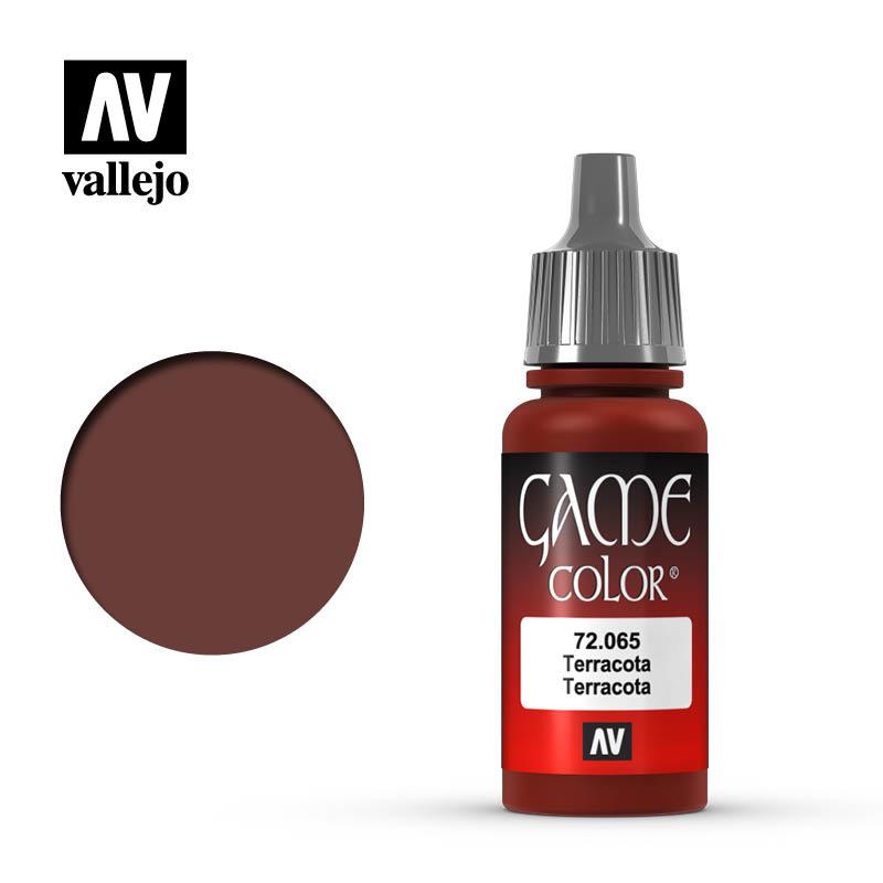 Vallejo Game Color - Terracotta - 17 ml - Vallejo - VAL-72065