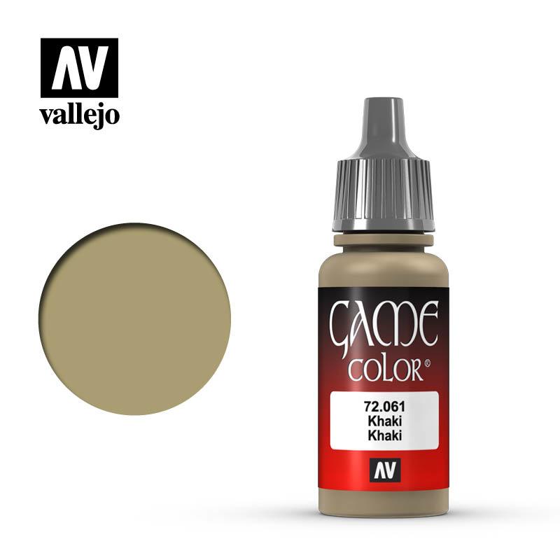Vallejo Game Color - Khaki - 17 ml - Vallejo - VAL-72061
