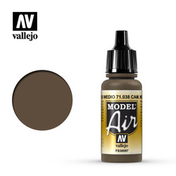 Model Air - Camouflage Medium Brown - 17 ml - Vallejo - VAL-71038