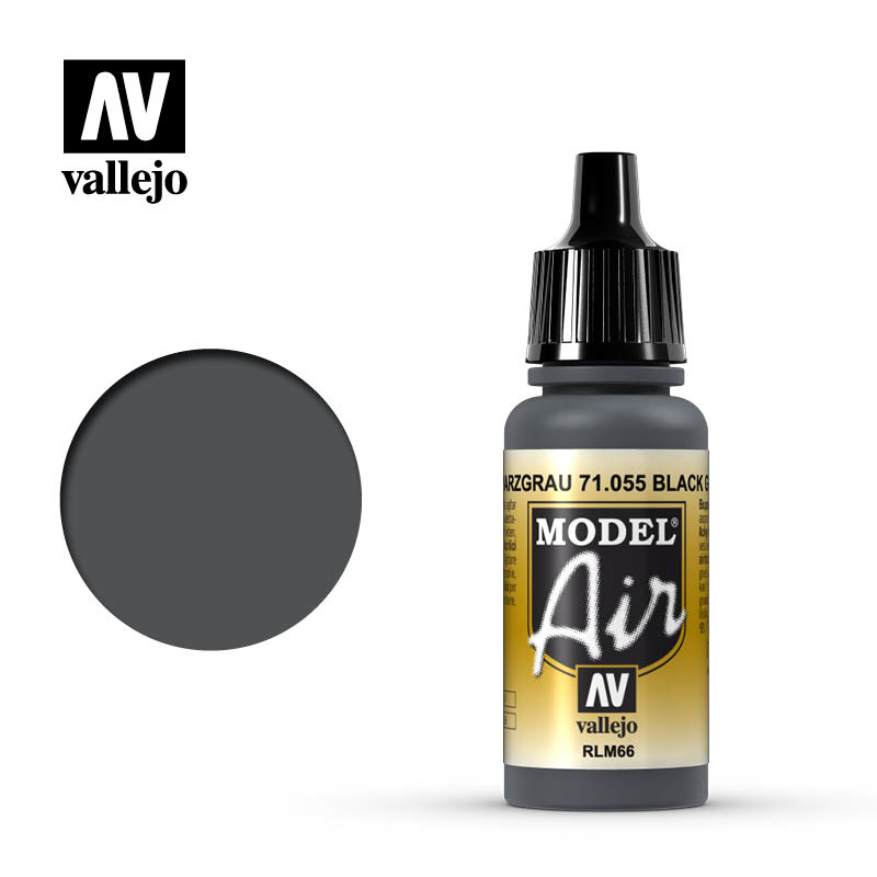 Vallejo Model Air - Grey Green - 17 ml - Vallejo - VAL-71055