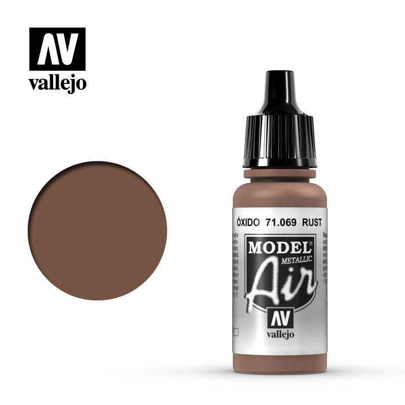 Vallejo Model Air - Metal Rost - 17 ml - Vallejo - VAL-71069