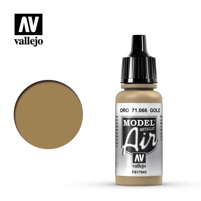 Vallejo Model Air - Gold - 17 ml - Vallejo - VAL-71066