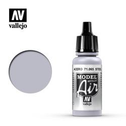 Model Air - Steel - 17 ml - Vallejo - VAL-71065