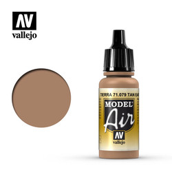 Model Air - Flat Tan - 17 ml - Vallejo - VAL-71079