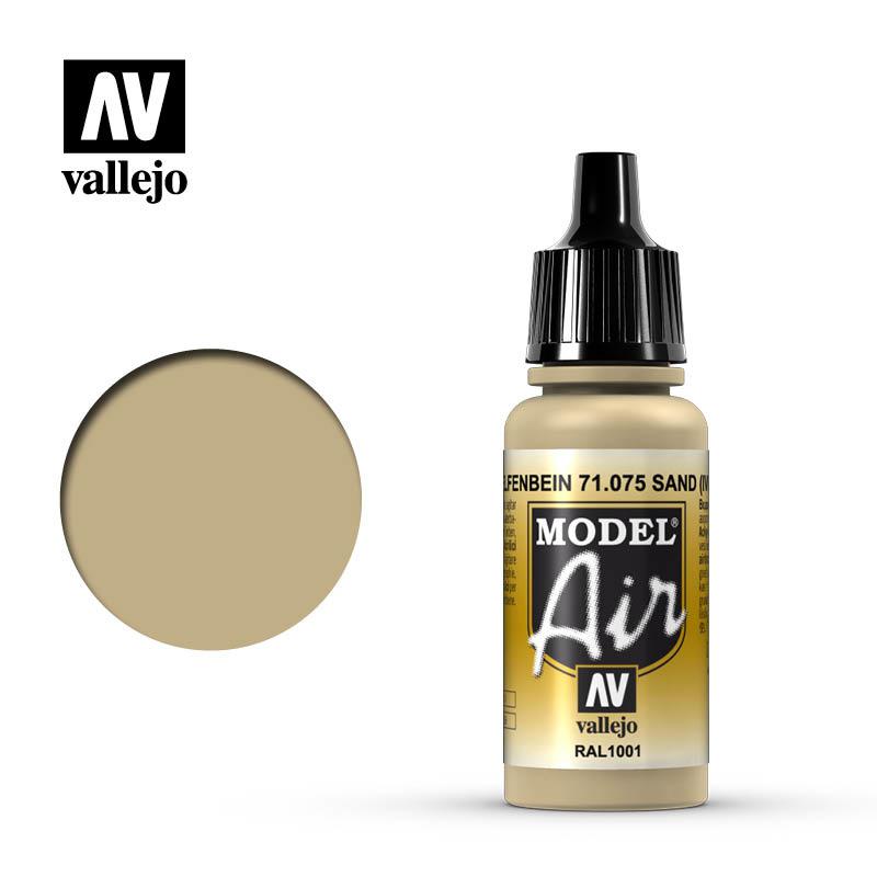 Vallejo Model Air - Ivory - 17 ml - Vallejo - VAL-71075