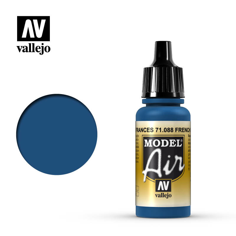 Vallejo Model Air - French Blue - 17 ml - Vallejo - VAL-71088