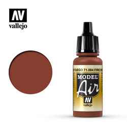Model Air - Fire Red - 17 ml - Vallejo - VAL-71084