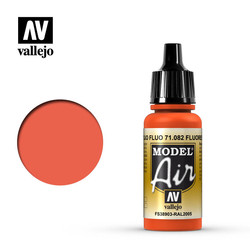 Model Air - Fluorescent Red - 17 ml - Vallejo - VAL-71082