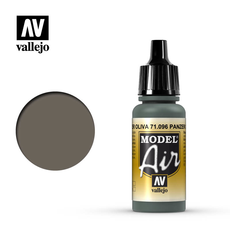 Vallejo Model Air - Olive Grey - 17 ml - Vallejo - VAL-71096