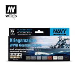 Model Air - Kriegsmarine Wwii German Colors - Vallejo - VAL-71615