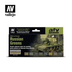 Model Air - Russian Greens (1928'S To Present) - Vallejo - VAL-71613