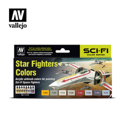 Model Air - Star Fighters Colors - Vallejo - VAL-71612