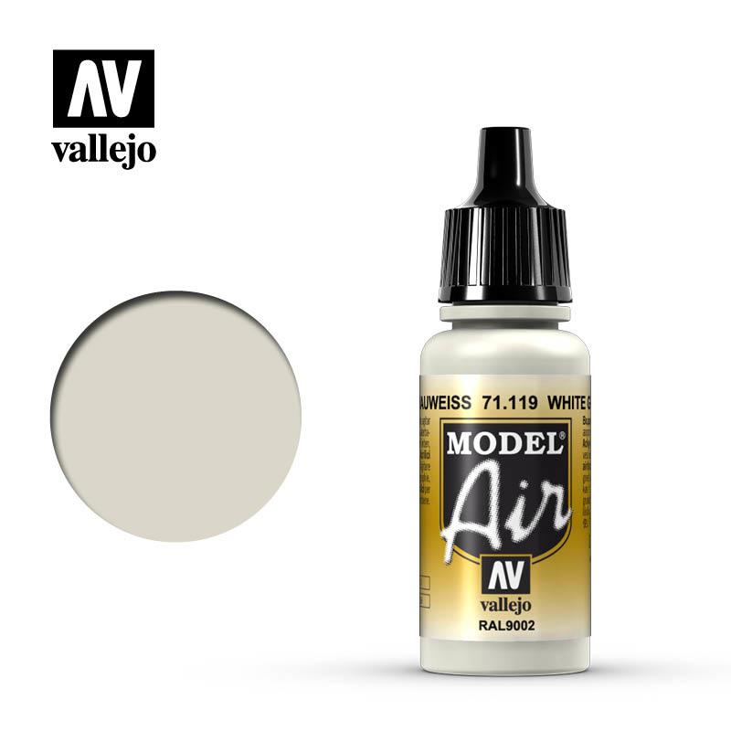 Vallejo Model Air - White Grey - 17 ml - Vallejo - VAL-71119