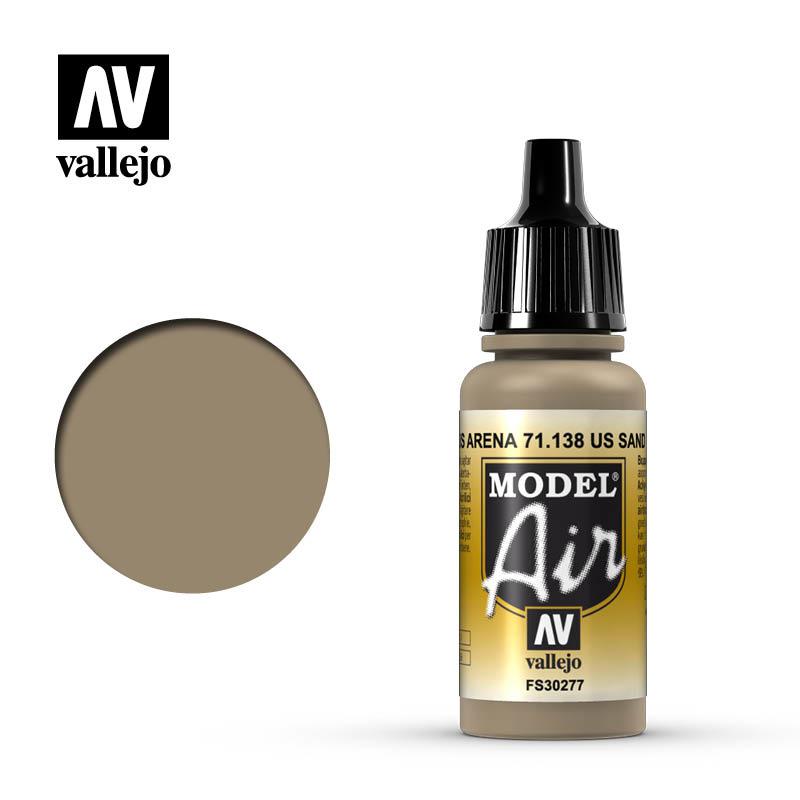 Vallejo Model Air - Us Sand - 17 ml - Vallejo - VAL-71138