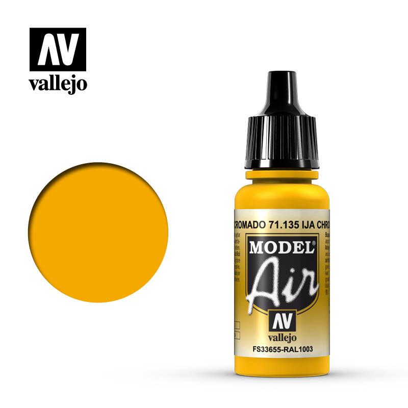 Vallejo Model Air - Ija Chrome Yel. - 17 ml - Vallejo - VAL-71135