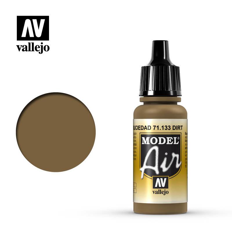 Vallejo Model Air - Dirt - 17 ml - Vallejo - VAL-71133