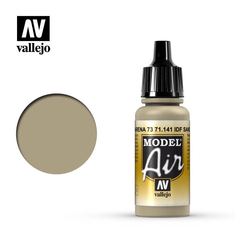 Vallejo Model Air - Idf Sand Grey - 17 ml - Vallejo - VAL-71141