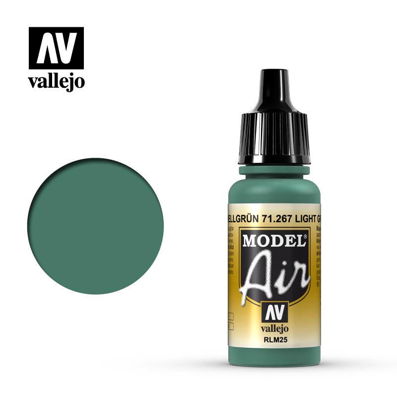 Vallejo Model Air - Light Green Rlm25 - 17 ml - Vallejo - VAL-71267