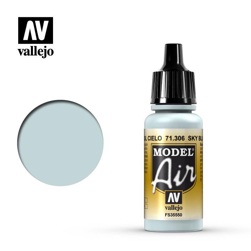 Vallejo Model Air - Sky Blue - 17 ml - Vallejo - VAL-71306