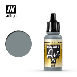 Model Air - Bs Medium Sea Grey - 17 ml - Vallejo - VAL-71307