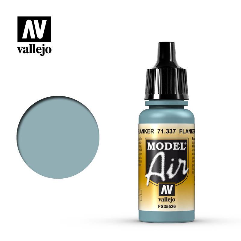 Vallejo Model Air - Flanker Blue - 17 ml - Vallejo - VAL-71337