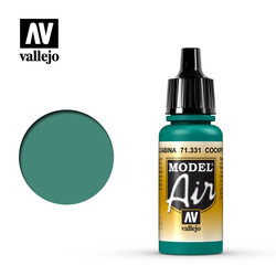 "Model Air - Cockpit Emerald Green ""Faded"" - 17 ml - Vallejo - VAL-71331"