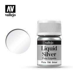 Model Color - Silver - 35 ml - Vallejo - VAL-70790
